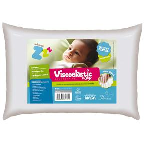Travesseiro Viescoelástico Antissufocante Baby Fibrasca