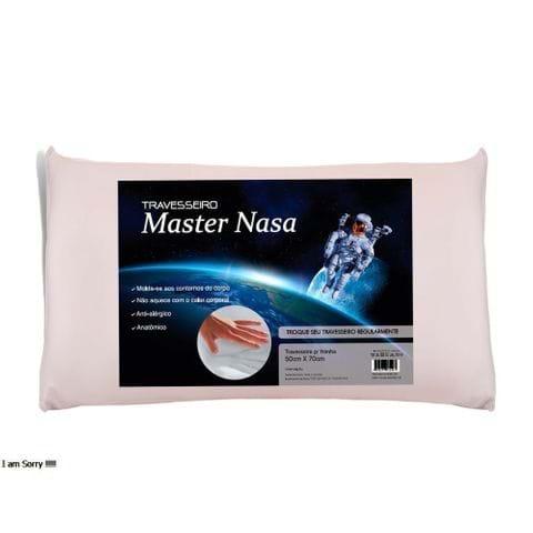 Tudo sobre 'Travesseiro Viscoelástico Master Nasa Altura 10 Cm'