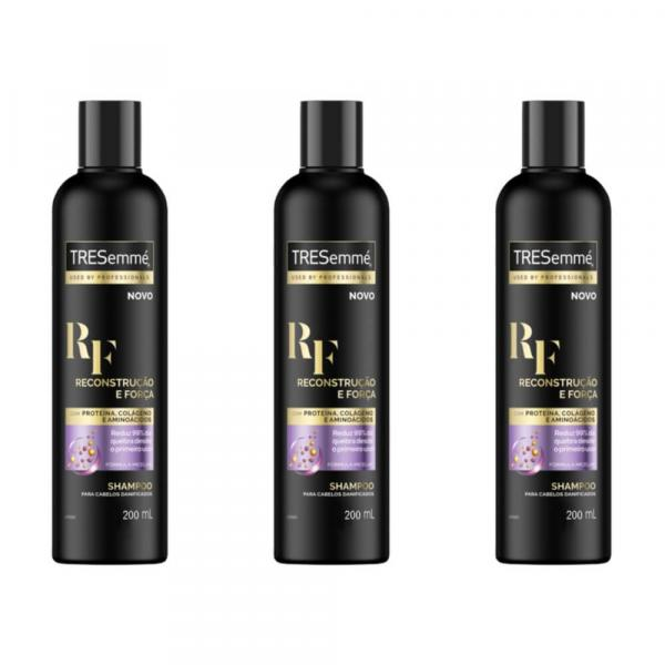 Tresemme Reconstrução e Força Shampoo 200ml (Kit C/03)