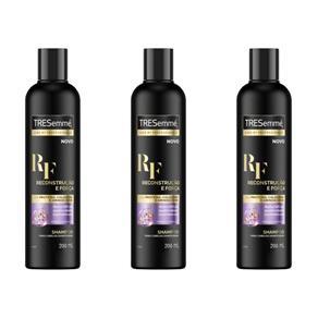 Tresemme Reconstrução e Força Shampoo 200ml - Kit com 03