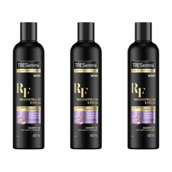 Tresemme Reconstrução e Força Shampoo 400ml (Kit C/03)