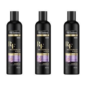 Tresemme Reconstrução e Força Shampoo 400ml - Kit com 03