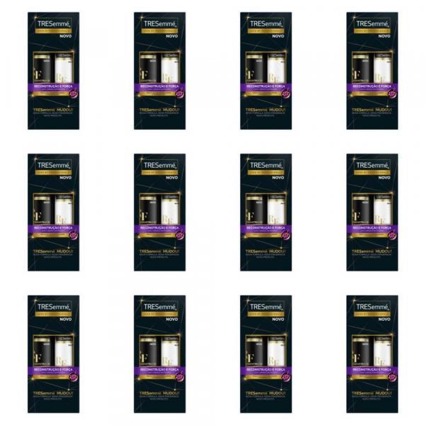 Tresemme Reconstrução e Força Shampoo + Condicionador 400ml (Kit C/12)
