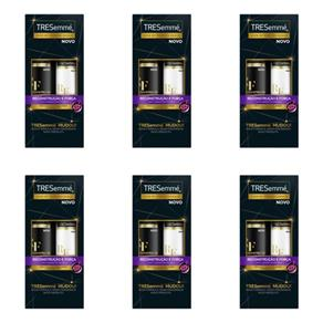Tresemme Reconstrução e Força Shampoo + Condicionador 400ml - Kit com 06