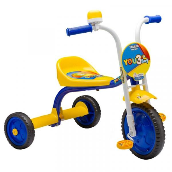 Triciclo 3 Rodas Infantil Menino You 3 Boy Nathor