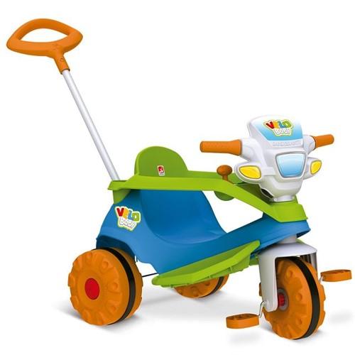 Tudo sobre 'Triciclo Velobaby 206 Bandeirante Azul'