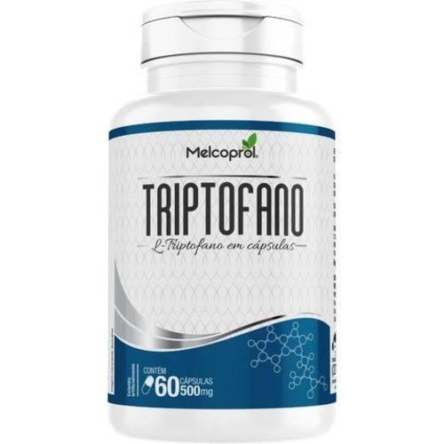 Tudo sobre 'Triptofano 60 Caps 500 Mg'