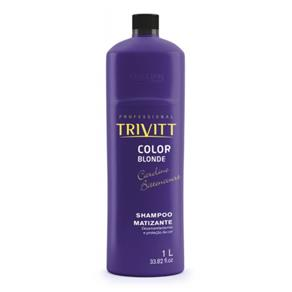Trivitt Color Blonde Shampoo Matizante