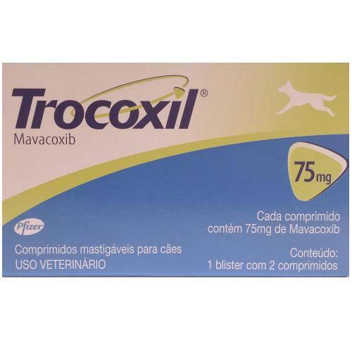 Tudo sobre 'Trocoxil 2 Comprimidos-75 Mg'