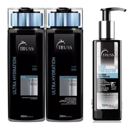 Truss Shampoo Condicionador Ultra-hidratante + Night Spa