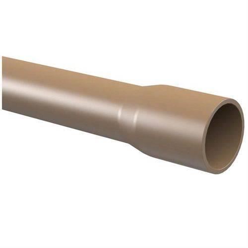 Tubo PVC para Água Fria Soldável 3 Metros 1/2'' DN-20 Marrom - 10.12.174.4 - TIGRE