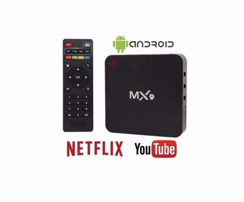 Tudo sobre 'Tv Box Mx9 Android 7.1.2'