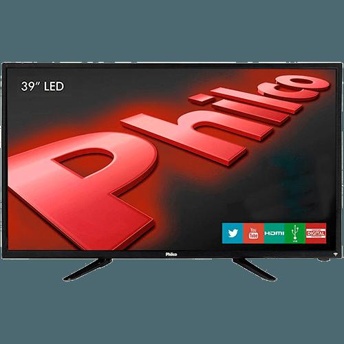"""Tudo sobre 'TV LED 39"""" Philco PH39N91DSGW HD com Conversor Digital e Função Smart 2 HDMI 1 USB'"""