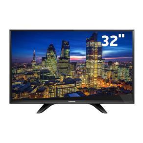 "TV LED 32"" HD Panasonic TC-32D400B com Conversor Digital Integrado, Media Player, Entradas HDMI e Entrada USB"