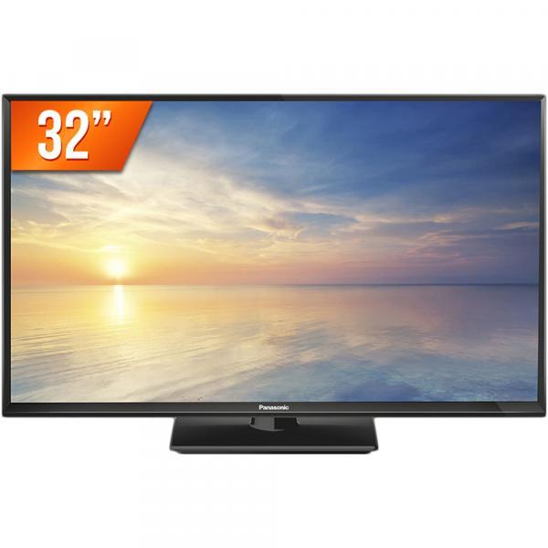 "TV LED 32"" HD Panasonic TC-32F400B 2 HDMI 1 USB Conversor Digital"