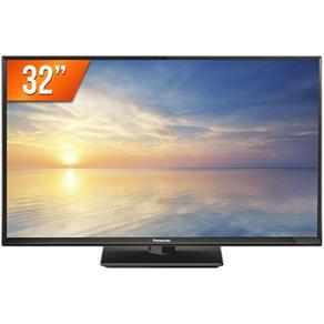 """TV LED 32"""" Panasonic TC-32F400B, 2 HDMI, USB - Bivolt"""