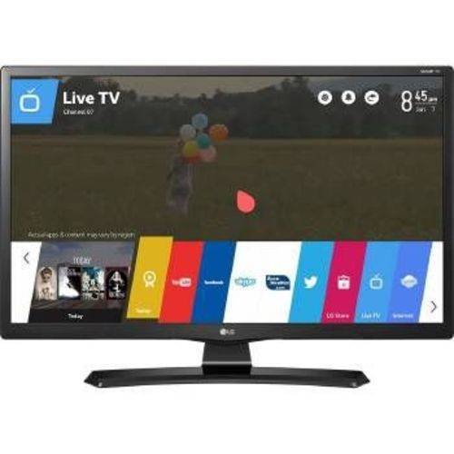 Tv Monitor Lg 28 Polegadas Smart Wifi Led HD Hdmi USB - 28mt49s-PS