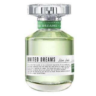 United Dreams Live Free Benetton - Perfume Feminino - Eau de Toilette 80ml