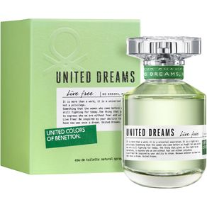 United Dreams Live Free By Benetton Feminino Eau de Toilette 80 Ml