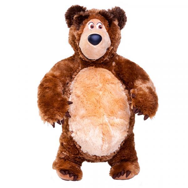 Urso de Pelúcia 40 Cm Masha e o Urso Estrela