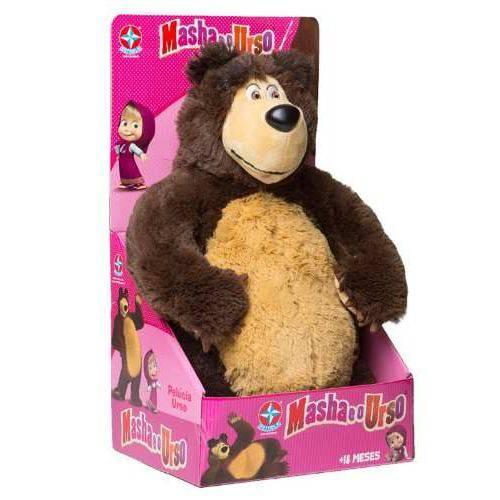 Urso de Pelucia Masha e o Urso - Estrela