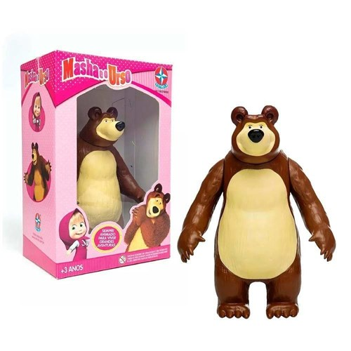 Urso de Vinil Masha e o Urso - Estrela