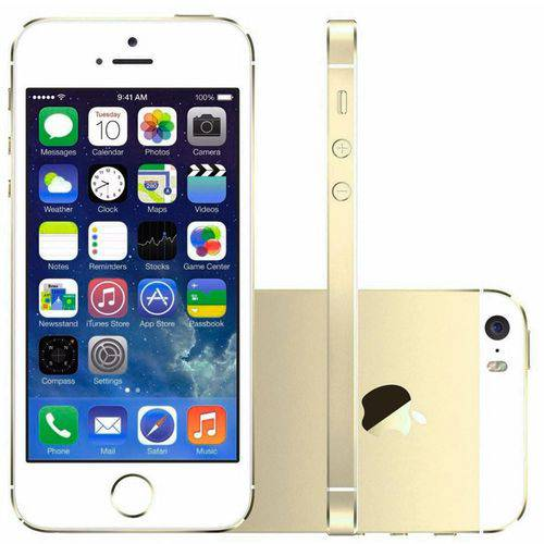 Usado: Iphone 5S Apple 16GB Dourado