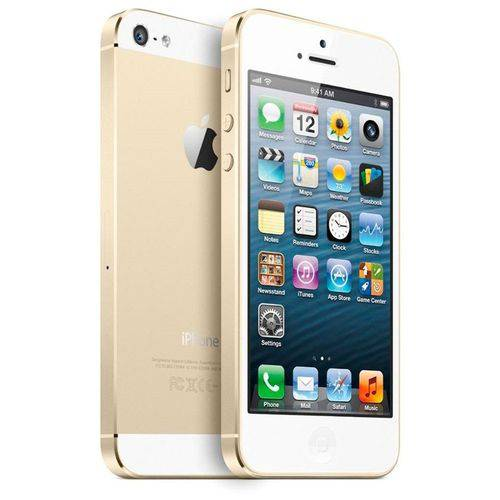 Usado: Iphone 5s Apple 64gb Dourado