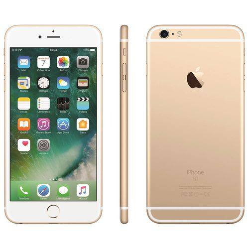 Usado: Iphone 6 Apple 16GB Dourado