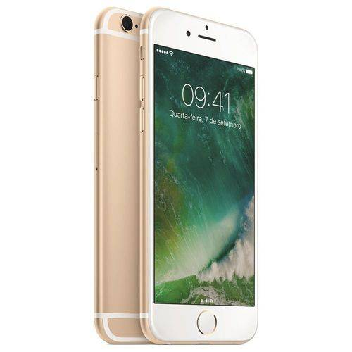 Usado: Iphone 6 Plus Apple 16gb Dourado