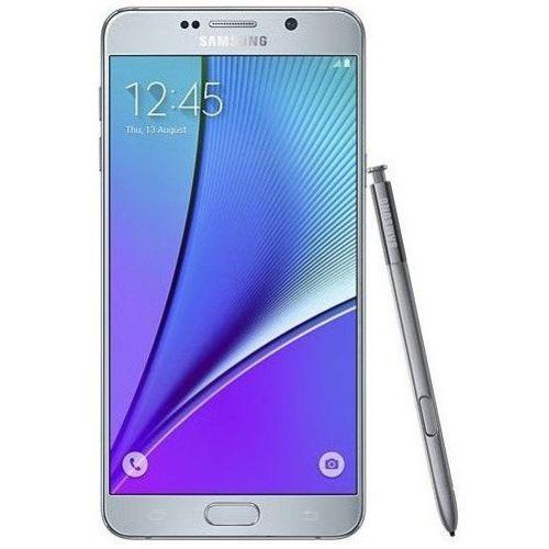 Usado: Samsung Galaxy Note 5 Prata Muito Bom - Trocafone