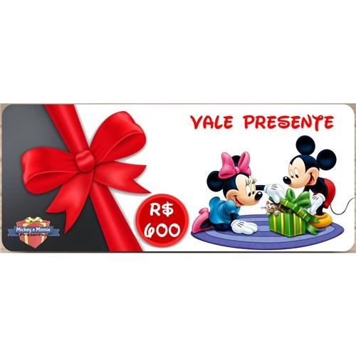Vale Presente - R$ 600,00