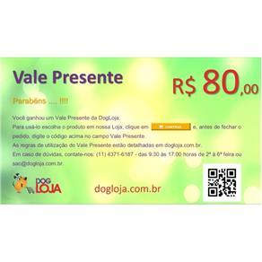 Vale Presente R$ 80,00