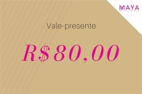 Vale Presente R$80,00