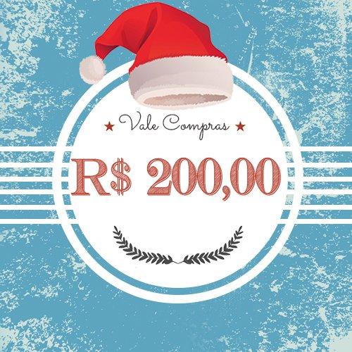 Vale Presentes - R$ 200,00