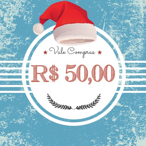 Vale Presentes - R$ 50,00