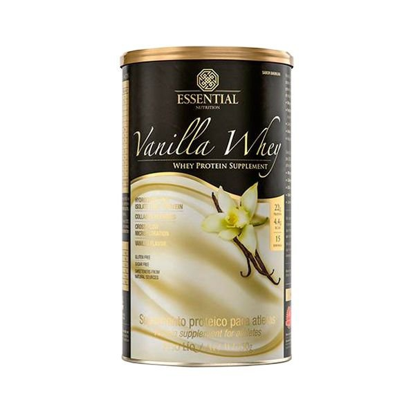 Vanilla Whey - 450 Gramas - Essential - Essential Nutrition