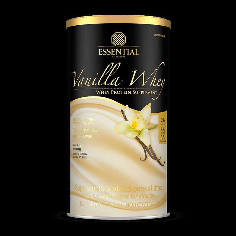 Tudo sobre 'Vanilla Whey (450g) Essential Nutrition'