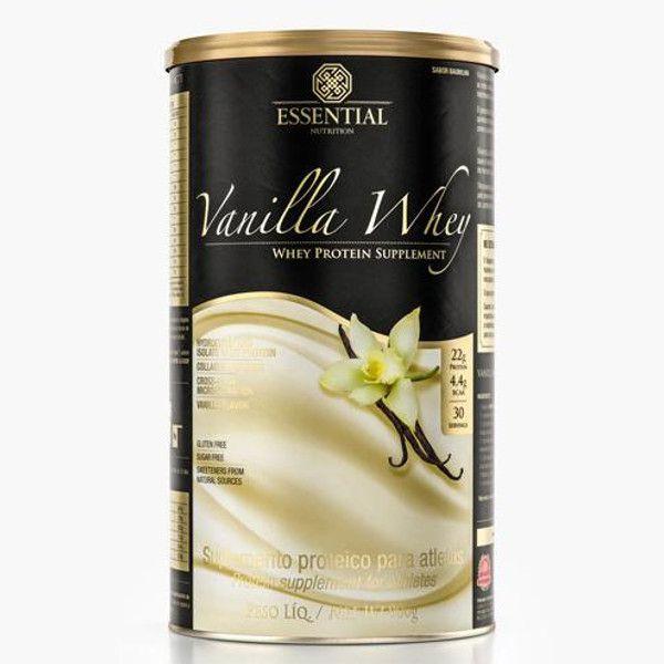 Vanilla Whey - 900 G - Essential Nutrition