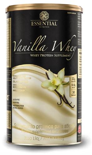 Vanilla Whey 900g – Essential Nutrition
