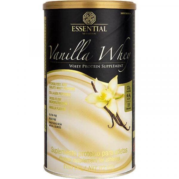 Vanilla Whey Lata 450g - Essential Nutrition
