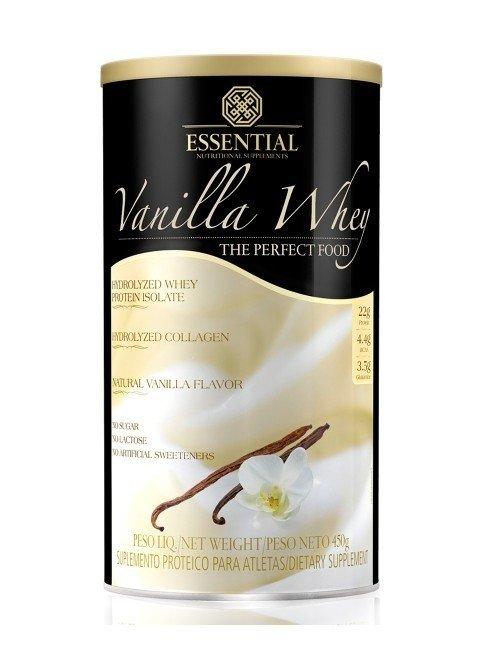 Vanilla Whey Protein Hidrolisado e Isolado Baunilha 450G