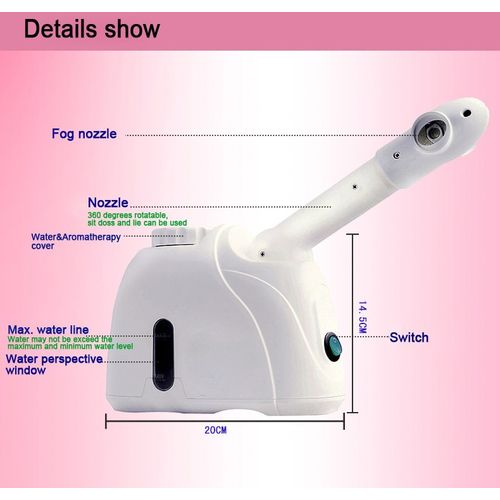 Vaporizador Facial Vapor de Ozônio Kingdon K-33s 110v