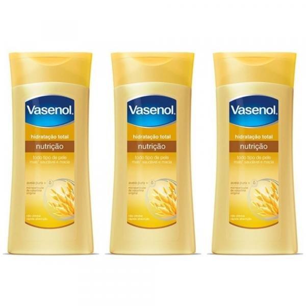 Vasenol Nutrição Loção Hidratante 200ml (Kit C/03)