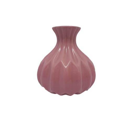 Tudo sobre 'Vaso Decorativo de Cerâmica Rosa'