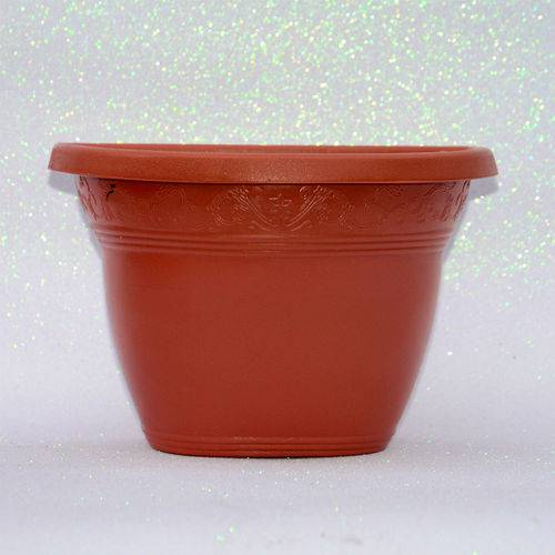 Vaso Plastico de Parede - Vicenza - Ceramica - Grande