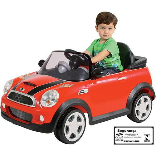 Tudo sobre 'Veículo Elétrico Mini Cooper Vermelho - Biemme'