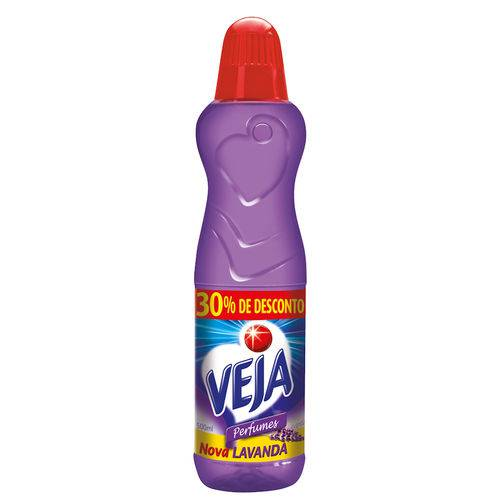 Veja Perfumes Lavanda e Bem-estar 500ml 30% de Desconto