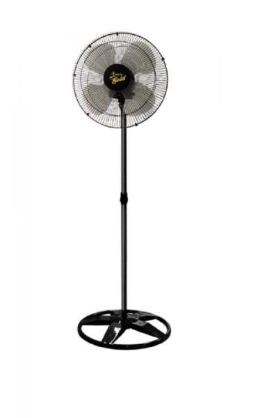 Ventilador de Coluna 50 Cm Gold 200 Watts Preto Venti-delta