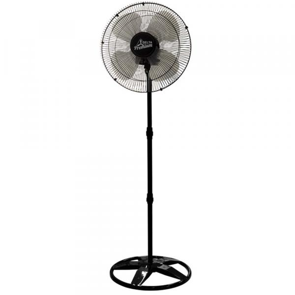 Ventilador de Coluna 50 Cm Preto Bivolt 3 Velocidades Venti-delta Premium 69-5412
